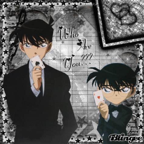Kaos Detective Conan 18 Shinichi Kudo shinichi conan picture 125282622 blingee