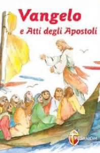 Vangelo E Atti Degli Apostoli Caratteri Grandi Libro