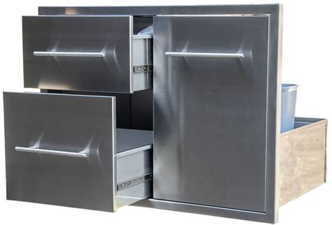 stainless steel drawer slides canada outdoor kitchens canada bbq island component built in