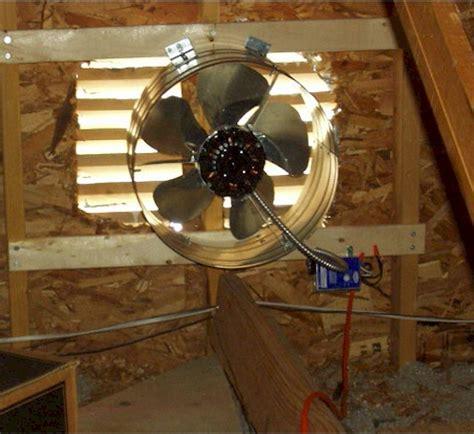 attic fan installation cost get an attic fan installed professional attic fan