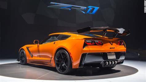fastest zr1 corvette gm unveils fastest corvette nov 13 2017