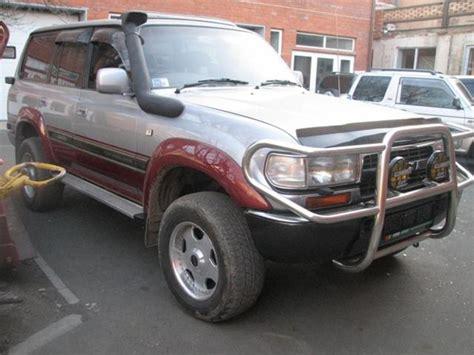 Toyota Land Cruiser Mpg 1994 Toyota Land Cruiser Diesel Mpg