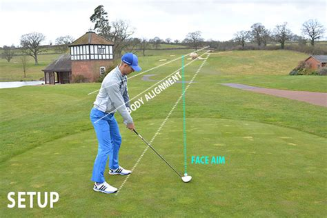 correct golf swing correct swing path with driver