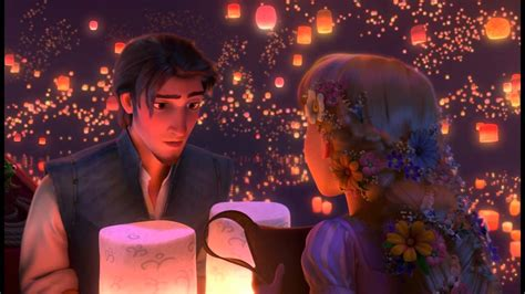 boat song from tangled 720p hd tangled quot i see the light quot complete lantern
