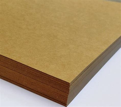 thick craft paper aliexpress buy 230g a4 brown kraft blank matte paper