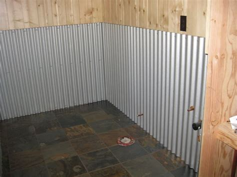 Corrugated Steel Wainscoting corrugated metal wainscoting pictures to pin on pinsdaddy