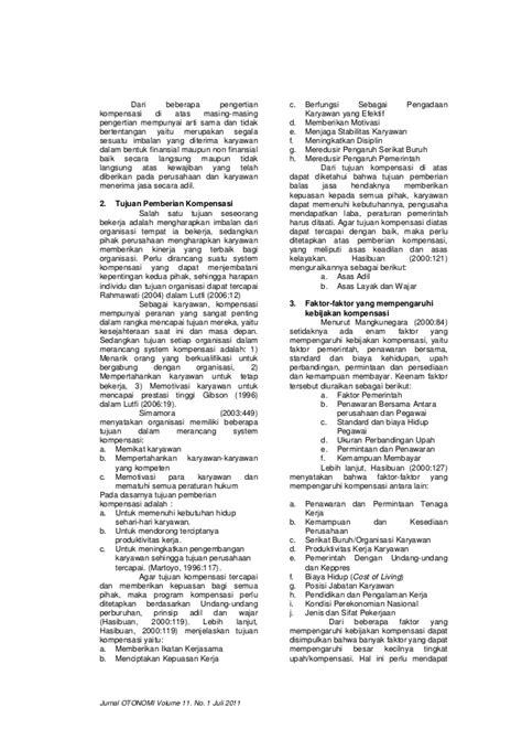 Jurnal Wacana Vol11 No2 jurnal otonomi volume 11 no 1 juli 2011