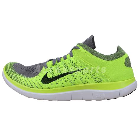 nike barefoot shoes nike free flyknit 4 0 grey volt barefoot running shoes run