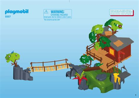 Building instruction   Playmobil 5557 : Adventure Tree