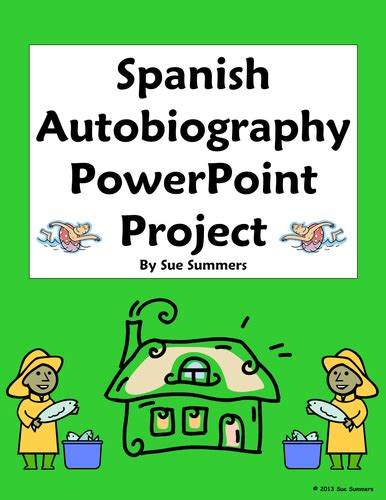 autobiography in spanish sue summers shop teaching resources tes