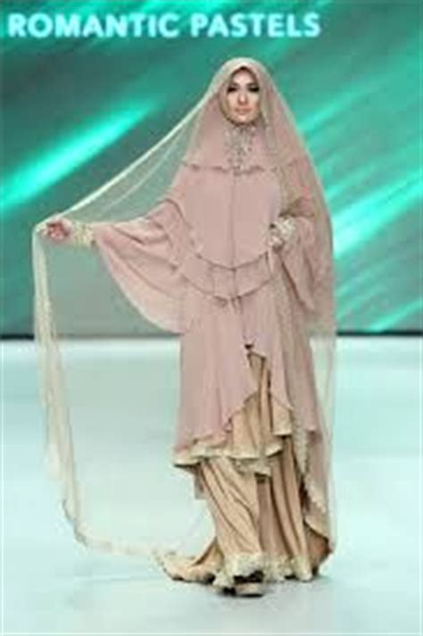 Khimar Dhea Collection muslim wedding dress and khimar by si se sa indonesia fashion week 2014 syar i style