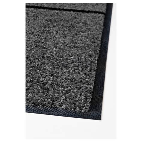 Grey Door Mat by K 214 Ge Door Mat Grey Black 102x152 Cm