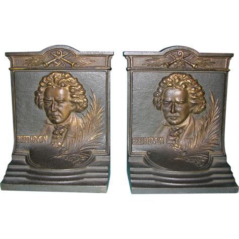 Bradley Hubbard L by Beethoven Bookends By Bradley Hubbard From Justbookends