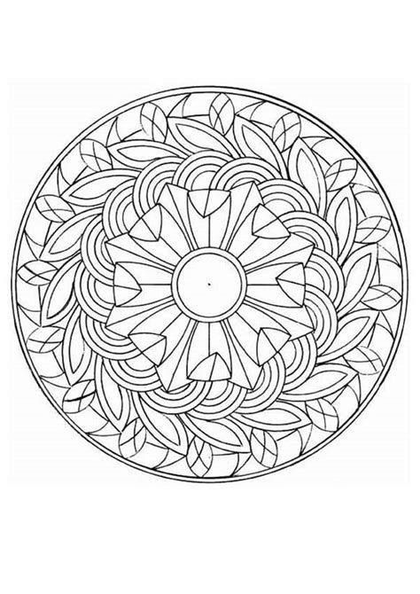 Intricate Design Coloring Pages Coloring Home Intricate Colouring Pages