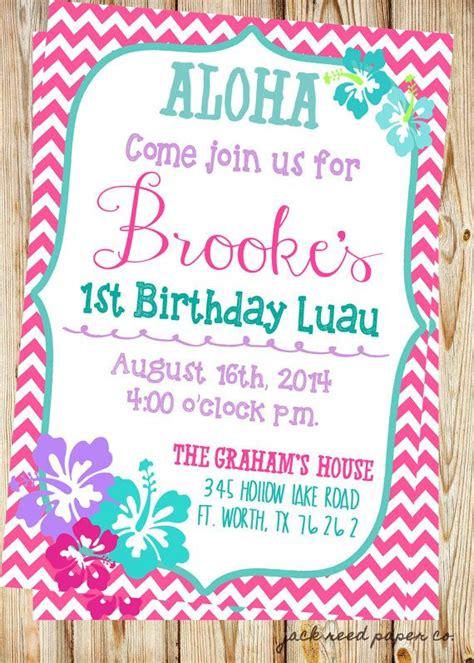 printable birthday invitations luau 25 best luau birthday invitations trending ideas on