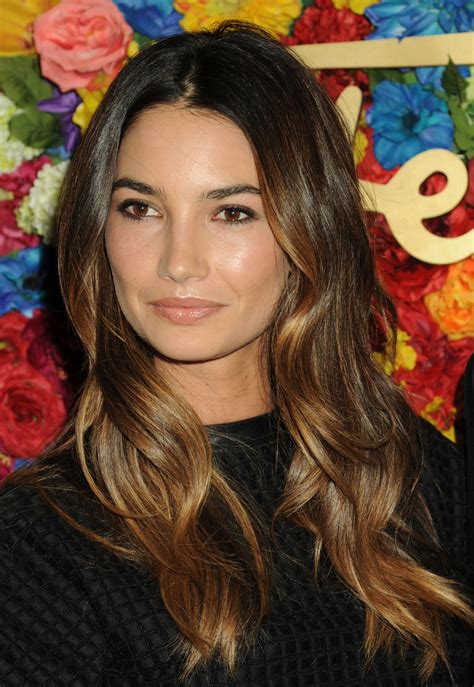 jen lilys hair more pics of lily aldridge nude lipstick 1 of 16 lily