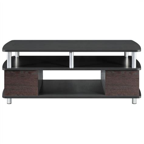 altra furniture coffee table altra furniture carson coffee table with storage in cherry