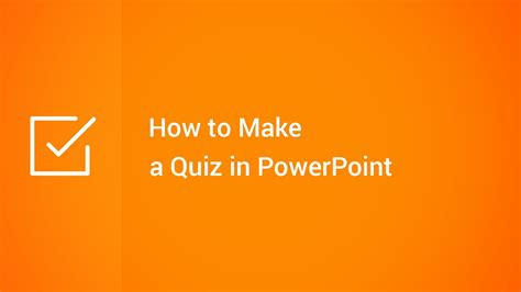 create a quiz in powerpoint how to make a quiz in powerpoint youtube