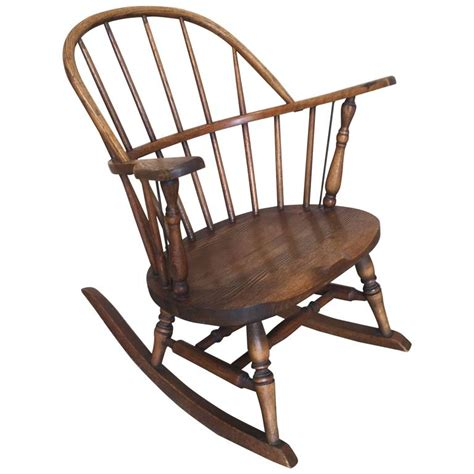 windsor childs rocking chair  hp atkinson  sons  sale  stdibs