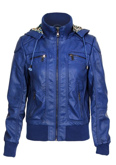 Jaket Lea blue bomber custume made racing leather jacket 2016 s on luulla