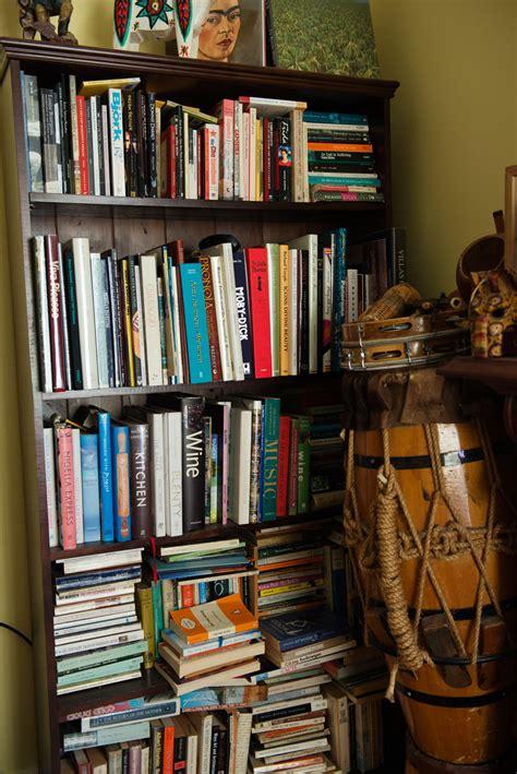 magenta hello bookcase exploring the