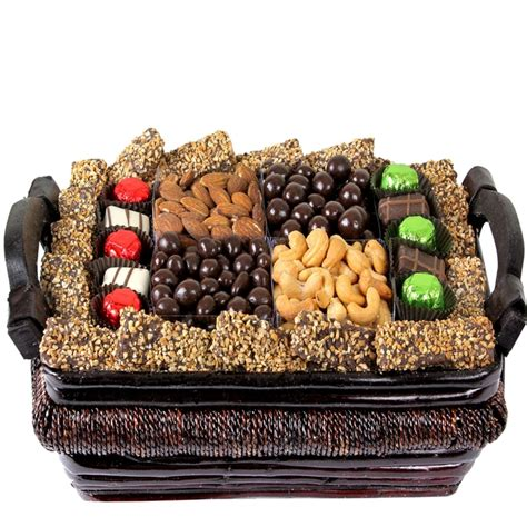 holiday gourmet signature wicker basket med holiday