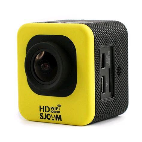 Sjcam Mini sjcam m10 wifi mini cube hd yellow