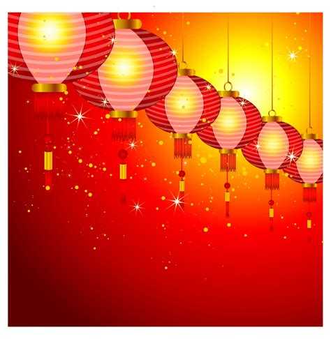 lanterns in new year new year lanterns background www pixshark