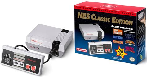 nintendo nes classic is palm size comes pre installed with 30 mikeshouts walmart new nintendo nes classic edition gaming system 59 88 shipped live at 5pm est