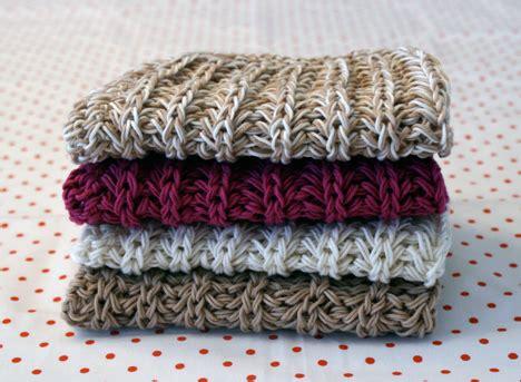 easy knit dishcloths basketweave dishcloth pattern beginner knitters pattern