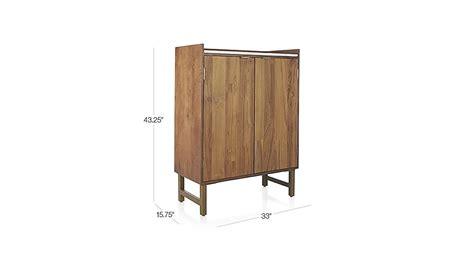 crate and barrel wine cabinet cantina bar cabinet crate and barrel
