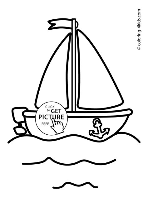 boat coloring pages for toddlers boat transportation coloring pages for kids printable