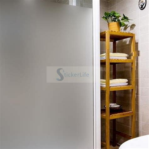 privacy sticker for bathroom window 61cm x 3m sand blast bathroom office privacy frosted