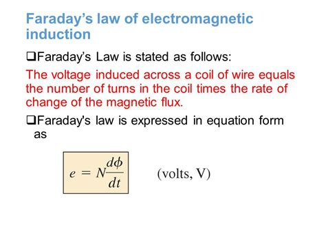 electromagnetic induction laws magnetic and electromagnetic ppt