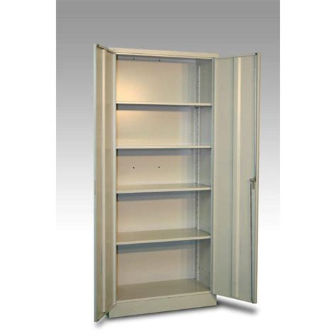 armoire metal but armoire haute m 233 tal 4 tablettes jds l 80 x h 180 x p 40