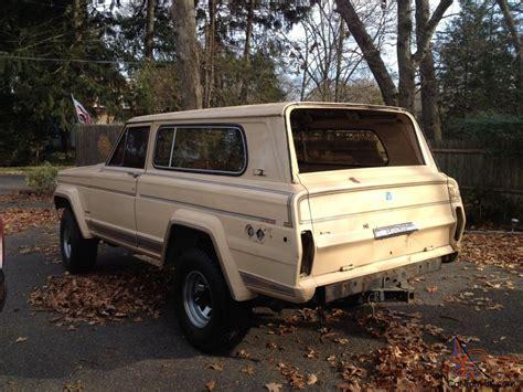 jeep cherokee 1980 1980 jeep cherokee base sport utility 2 door 5 9l