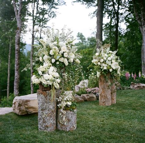 Backyard Wedding Flowers 22 Rustic Backyard Wedding Decoration Ideas On A Budget