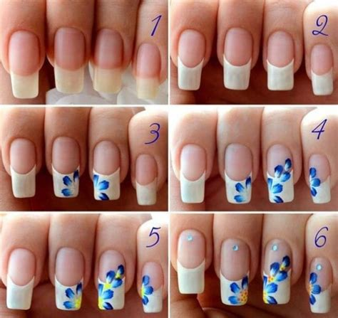 nail art tutorial step by step pictures 15 tutorial step by step per nail art floreali