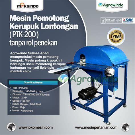 Pemotong Chip Jual Mesin Pemotong Kerupuk Lontongan Di Yogyakarta Toko