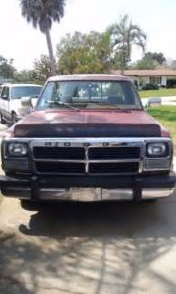 1992 dodge ram d150 5 2l v8 ohv 16v 8ft bed for sale