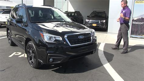subaru outback 2018 black 2018 subaru forester review black edition