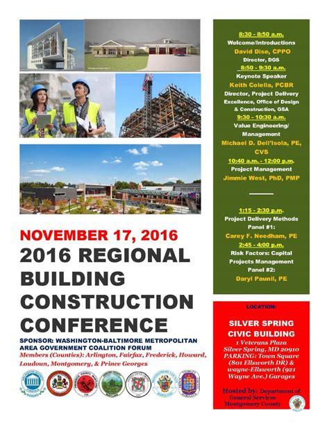 flyer design best practices 2016 building construction conference