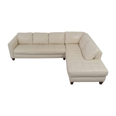 macys leather sofas on sale macy s white leather sofa sectionals used sectionals for