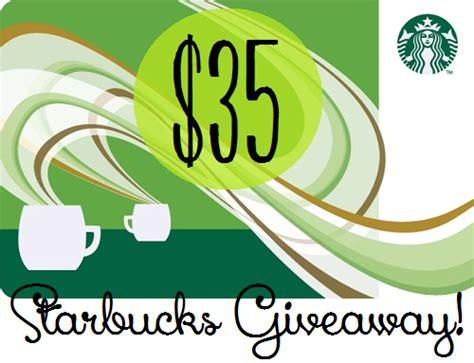 Starbucks Giveaway - robyn s nest 35 starbucks giveaway