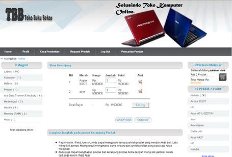 tutorial e commerce aplikasi toko online penjualan spare pondoksoft download aplikasi penjualan online e commerce