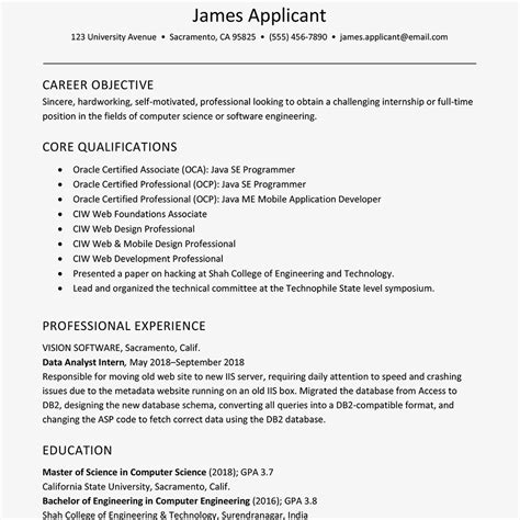 latest format of luxury updated resume format free career resume