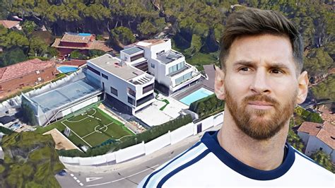 leo messi house lionel messi s house in barcelona inside outside design