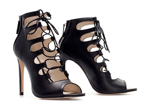 zara lace up sandals shoes buzz new fw13 trend lace up sandals by zara