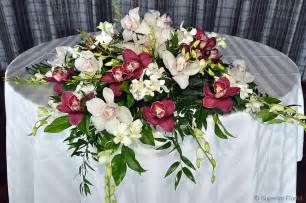 Italian Wedding Centerpieces by Superior Florist Event Florals Sweetheart Tables