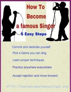 the easiest way to become a famous singer wikihow become a famous singer pictures famous singers and singers